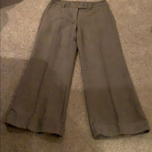 Turn up wide trousers
